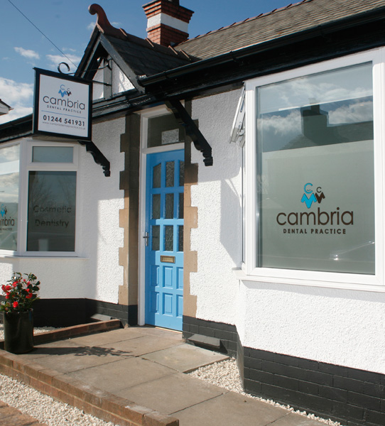 Cambria Dental Practice Exterior
