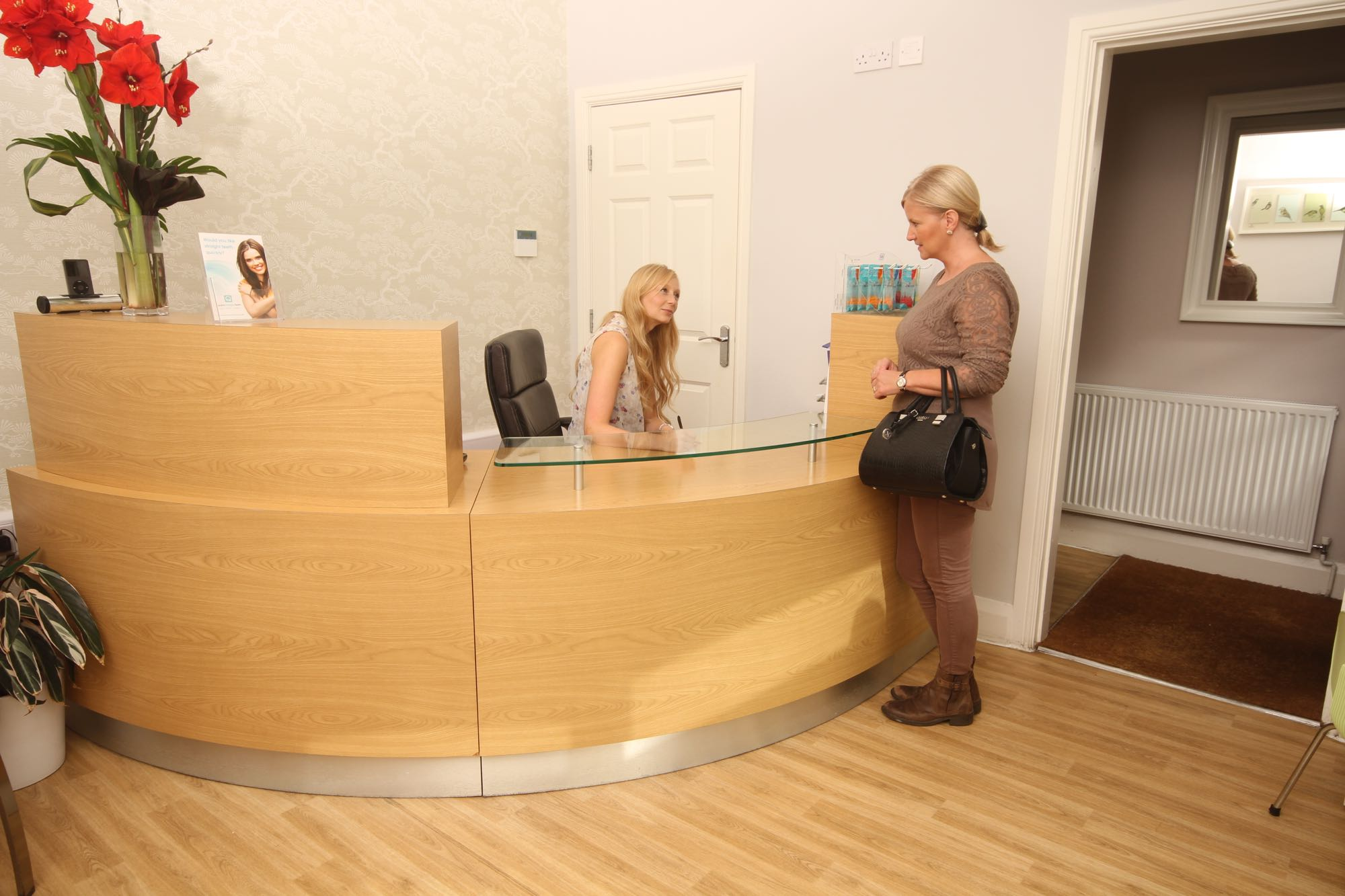 Cambria Dental Practice Reception
