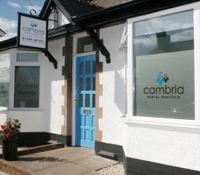 Cambria Dental Practice Exterior